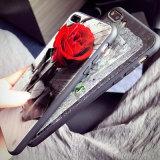 Nuovo retro 3D che imprime la cassa mobile del fiore della Rosa per iPhone6s