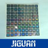 Цвет и логотип печать высокого качества и пользовательские Pass Голографическая наклейка