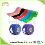 Physio治療上の伸縮性がある付着力のスポーツの綿筋肉包帯
