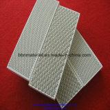 Placa cerámica refractaria cordierita panal.