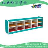 L'école les enfants japonais de jouets en bois naturel Armoire de stockage (HG-5408)