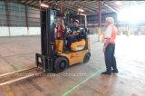 12-80V motor de reboque Zona Vermelha Luz de Aviso da área de perigo a Laser