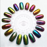 Silbernes Goldnagellack-Spiegel-Chrom-Pigment für Gel-Polnisches