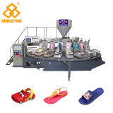 Автоматический поворотный машины на ЭБУ системы впрыска от полного пластика в Footwears термопластичных материалов
