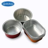 De Container van de aluminiumfolie met Deklaag