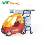 Gondole del supermercato del cestino di acquisto del carrello di acquisto del supermercato