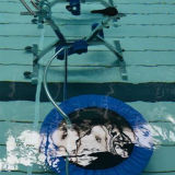 Fitness subacuático trampolín de saltos de cama