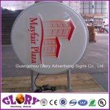 Cadre fait sur commande d'éclairage LED de forme irrégulière de forme pour annoncer le signe
