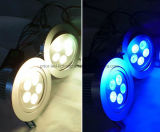 Lámpara 9X3with12X3w del LED Downlight