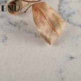 Pedra marmoreando branca artificial de quartzo de Lyra