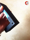 PVC souple noir de l'Accordéon en dessous de couvercle de protection pour les accessoires de machine-outil