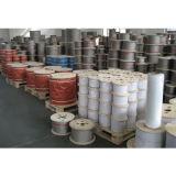 El uso de energía y minerales de la cuerda de alambre de acero inoxidable 7X19 10mm