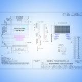 """0.96 """" [ألد] ينقّط عرض [128إكس64] لون شارة مع [إيك] [سّد1306]"""