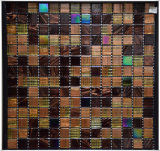 Mosaik-Tisch Mosai Wand deckt Mosaik-Glas-Mosaik-Küche-Fliesen mit Ziegeln