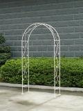 庭の装飾のためのシートが付いているきれいな鉄のアーチ