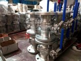 Углеродистая сталь Wcb не затвердел ли сальник фланца 2PC шаровой клапан