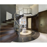 Escalier en verre Balustrade Frameless main courante pour un balcon et d'escalier
