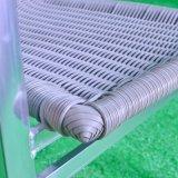 Silla de aluminio de la oxidación del patio del hogar del hotel de la oficina de la rota al aire libre del jardín (J838)