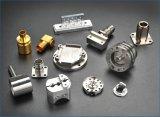 真鍮の精密アクセサリ回転部品の金属部分銅CNC