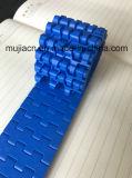 Hairise Plastikförderanlagen-modularer Flachriemen mit blauer Farbe