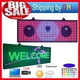 Table des messages programmable de couleur de défilement de pouce de l'Afficheur LED 27X77 de P10 SMD RVB