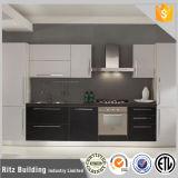 O gabinete de cozinha elevado novo da laca do lustro livra o mais tarde o projeto