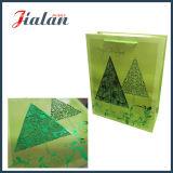 Подгоняйте с мешком подарка упаковки покупкы рождества окна PVC бумажным