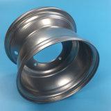 道ATVの鋼鉄車輪の縁を離れた銀製カラー8X5.5