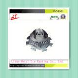 Alliage en aluminium moulé sous pression pour lampe à LED/anodisation claire