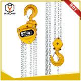 Manual de 1 tonelada polipasto de cadena polipasto de cadena de bloque (VD-01T)