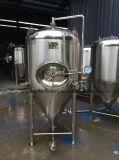 Réservoir conique lumineux sanitaire de fermenteur de bière