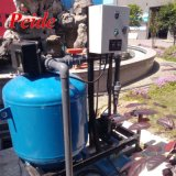滴りの用水系統のための自動後流媒体の砂フィルター
