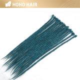 Colore blu estensioni sintetiche dei capelli di Dreadlocks del Crochet da 20 pollici