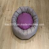 둥근 개 침대 애완 동물 제품 애완견 침대를 채우는 작은 강아지 침구