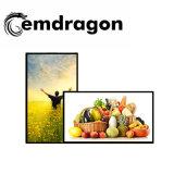 Reproductor de la publicidad de 32 pulgadas LCD Digital Signage quiosco al aire libre con la certificación CE quiosco de comida para la venta de publicidad