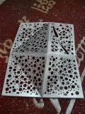 3D BuitenComité van het Aluminium van de Decoratie van de Muur Artistieke Geperforeerde