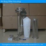 1 micra sola bolsa #4 Filtro de Bolsa Bolsa de acero inoxidable de la caja del filtro de aceite para la separación de agua