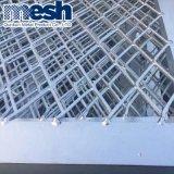Expanedの金属の鋼鉄ダイヤモンドの版の網の装飾の鋼板網