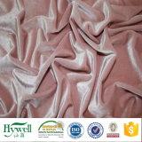 Tela decorativa de la tela del terciopelo del Knit de la deformación