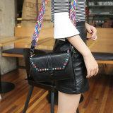 リベットのDectrationの方法ハンドバッグデザイナー袋のショルダー・バッグ(WDL0460)が付いている女性袋