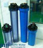Vollständiges Haus-Wasser-Filtergehäuse-grosses Blau, 10 '' /20 '' RO-Wasser-Filter-Teile