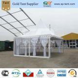 Transparentes Wand-Raum-Pagode-Partei-Zelt mit Futtern