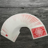 Cartões de jogo personalizados com logotipo do cliente publicitário