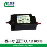 Certifié UL Driver de LED à haute efficacité étanche 24W 56V 0.32Un