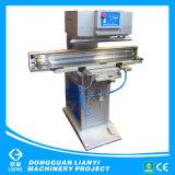 기계를 인쇄하는 나무로 되는 똑바른 삼각형 통치자 잉크 컵 패드