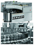 chaîne de production Laver-Séchage-Remplissante-Stoppling liquide de la fiole 300bpm (pour pharmaceutique)