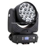 Indicatore luminoso capo mobile della fase dello zoom della lavata di Vello LED RGBW (LED XP300)