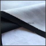 Полиэстер персиковый цвет кожи, приклеенные с помощью ткани велюр ткань для диван