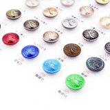 Weinlese-Blazer-Tasten-kundenspezifische Decklack-Metalllegierungs-Schutzkappen-Taste mit Schaft