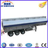 3 het aluminium45000L Diesel van de as/de Aanhangwagen van de Tankwagen van de Levering van de Benzine voor Verkoop